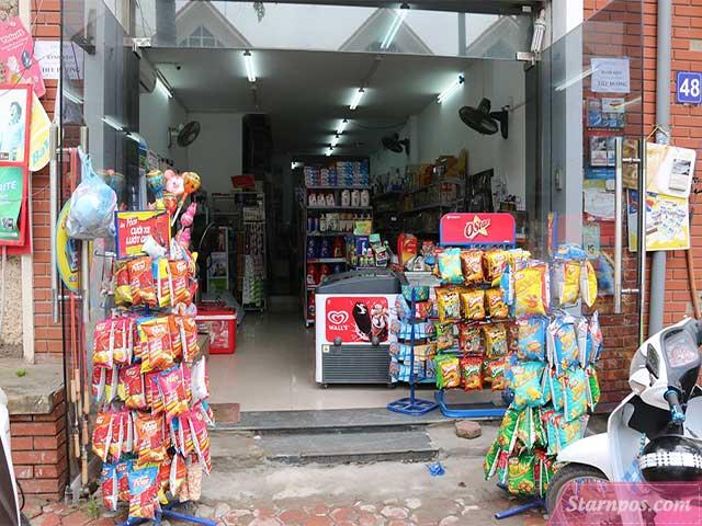 Cửa hàng tạp hóa nhỏ tại nhà