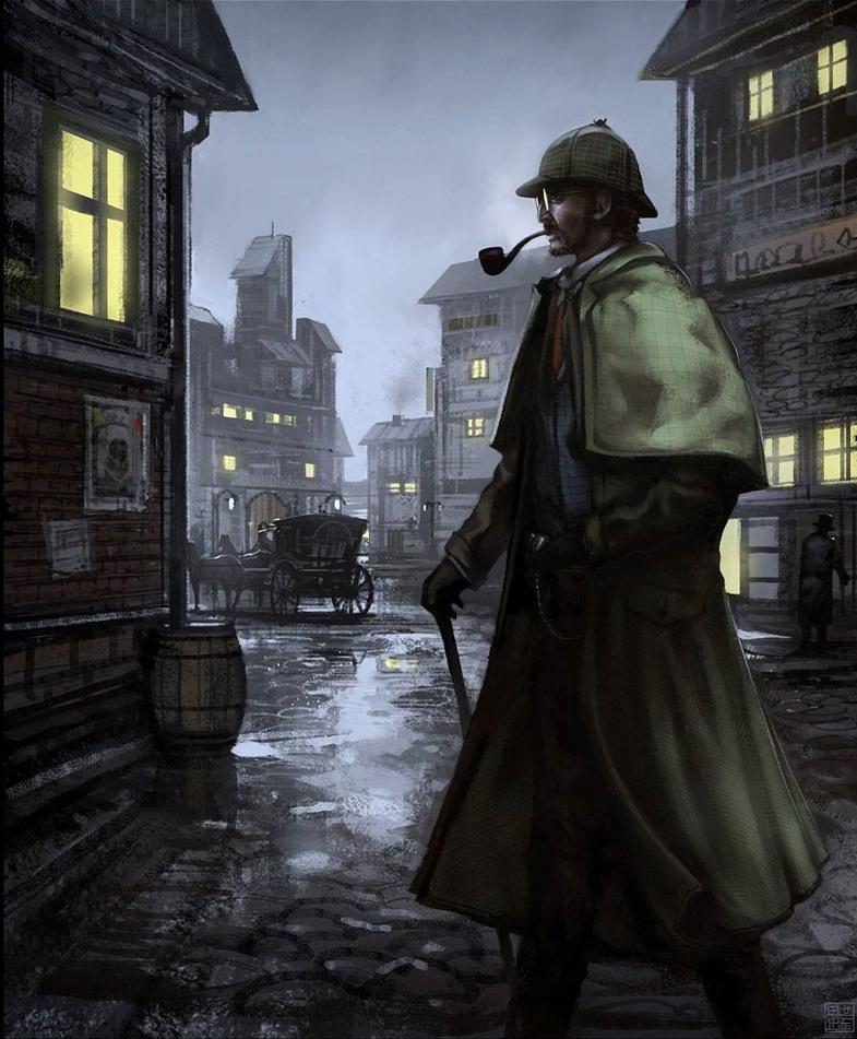Nhân vật Sherlock Holmes trong truyện