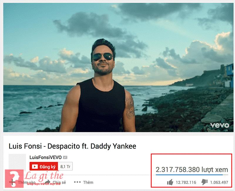 Despacito trở thành bài hát được nghe nhiều nhất hiện nay.