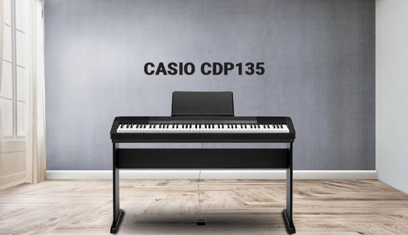 Casio CDP-135 là sản phẩm nằm trong phân khúc giá rẻ