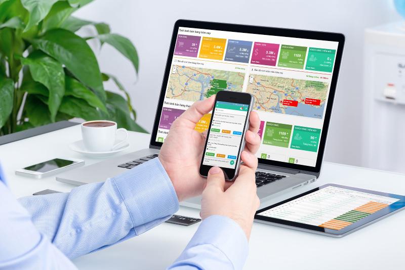 Phần mềm quản lý bán hàng Toko tech