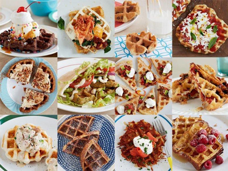 các loại bánh waffles