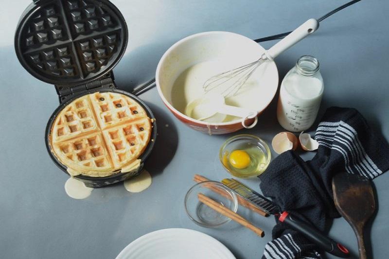 cách làm bánh waffle tại nhà