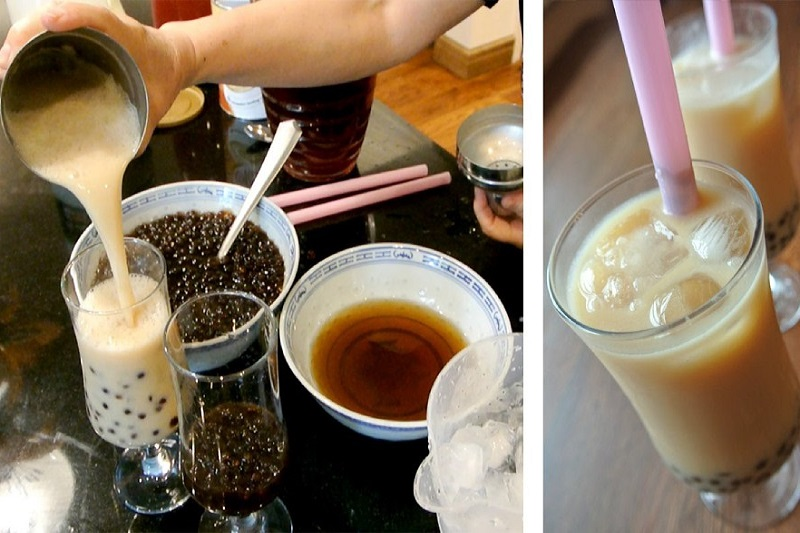 cách làm trà sữa trân châu tại nhà